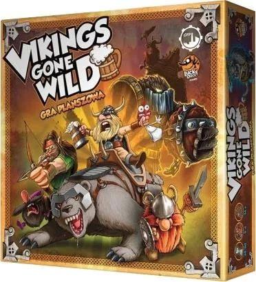 Gra Planszowa Vikings Gone Wild (PL)