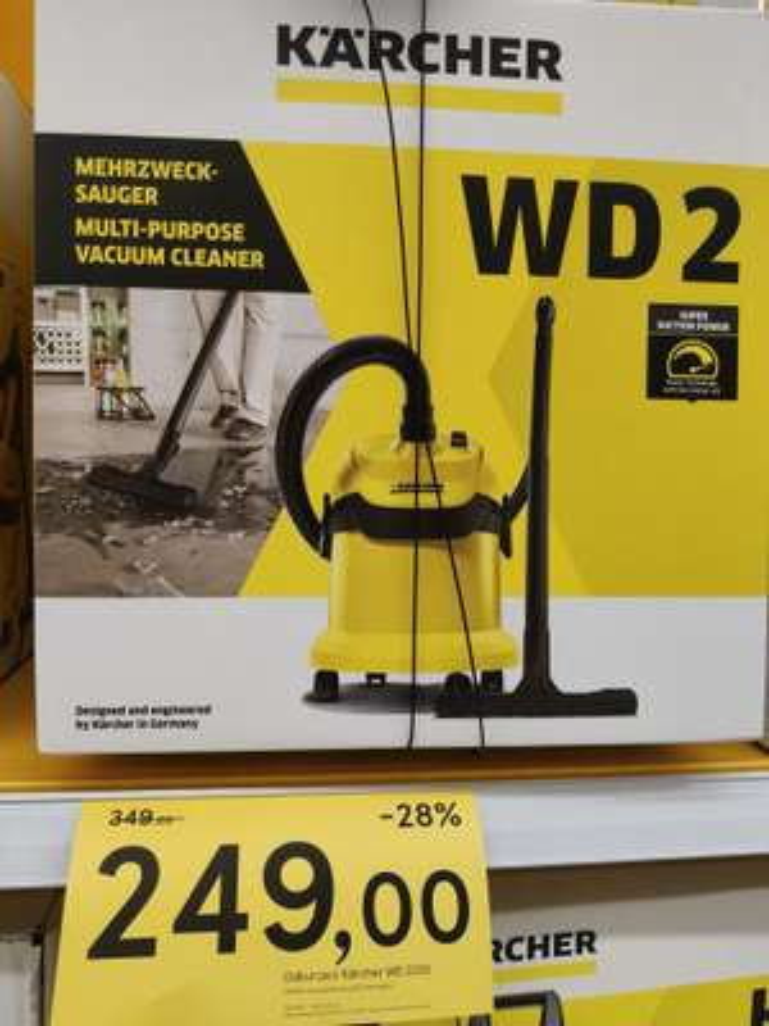 Odkurzacz Karcher WD2 (WD2250) w Tesco -28%