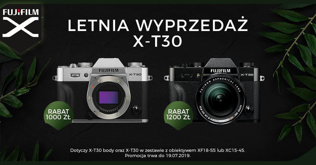 Aparat Fujifilm X-T30 -1000 zł w letniej promocji! -1200 z obiektywem!