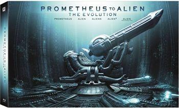 Obcy Antologia + Prometeusz (Blu-ray, polskie napisy) DARMOWA DOSTAWA DO SALONU!@ EMPIK
