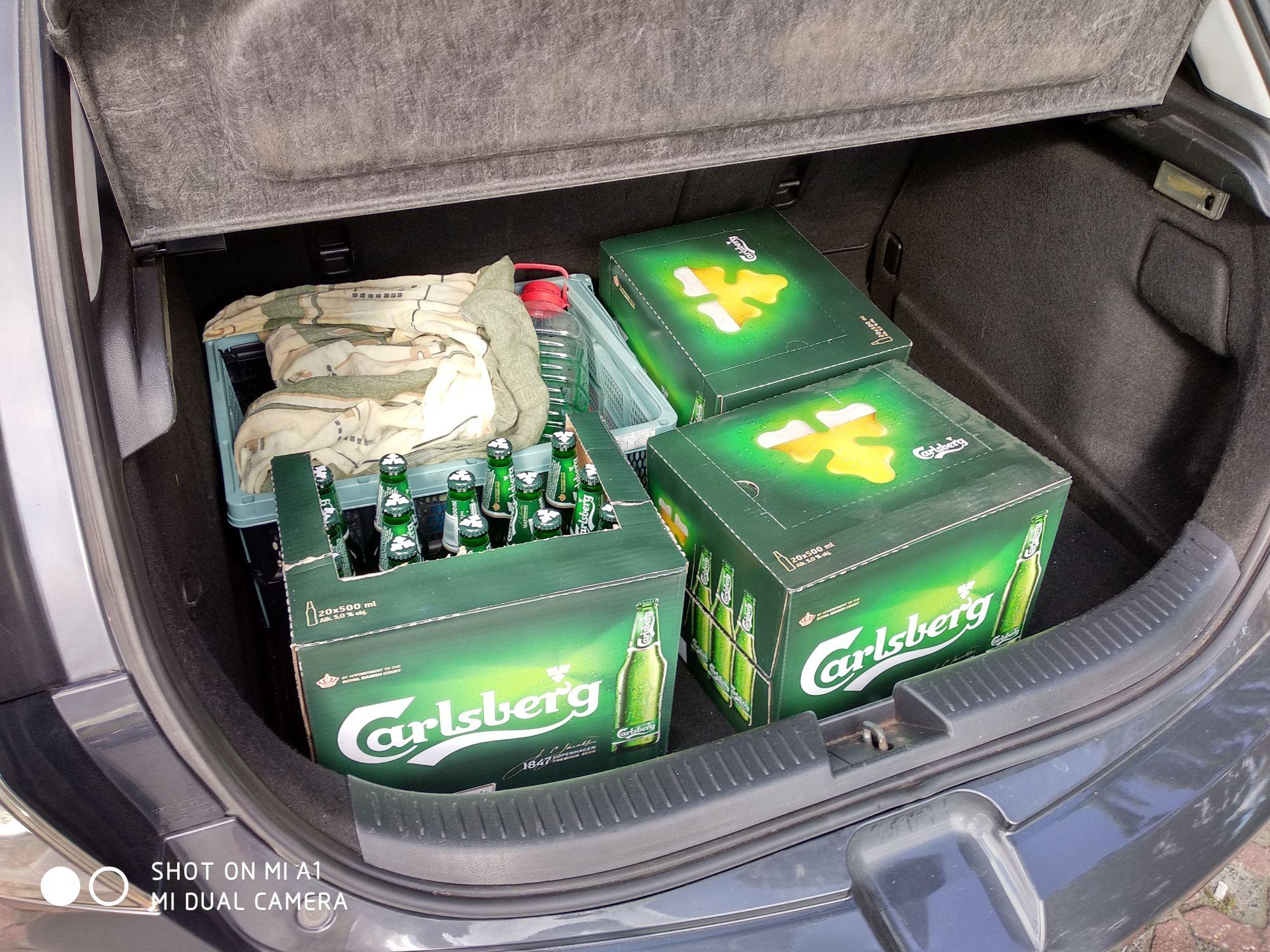 Tanie piwo Carlsberg biedronka