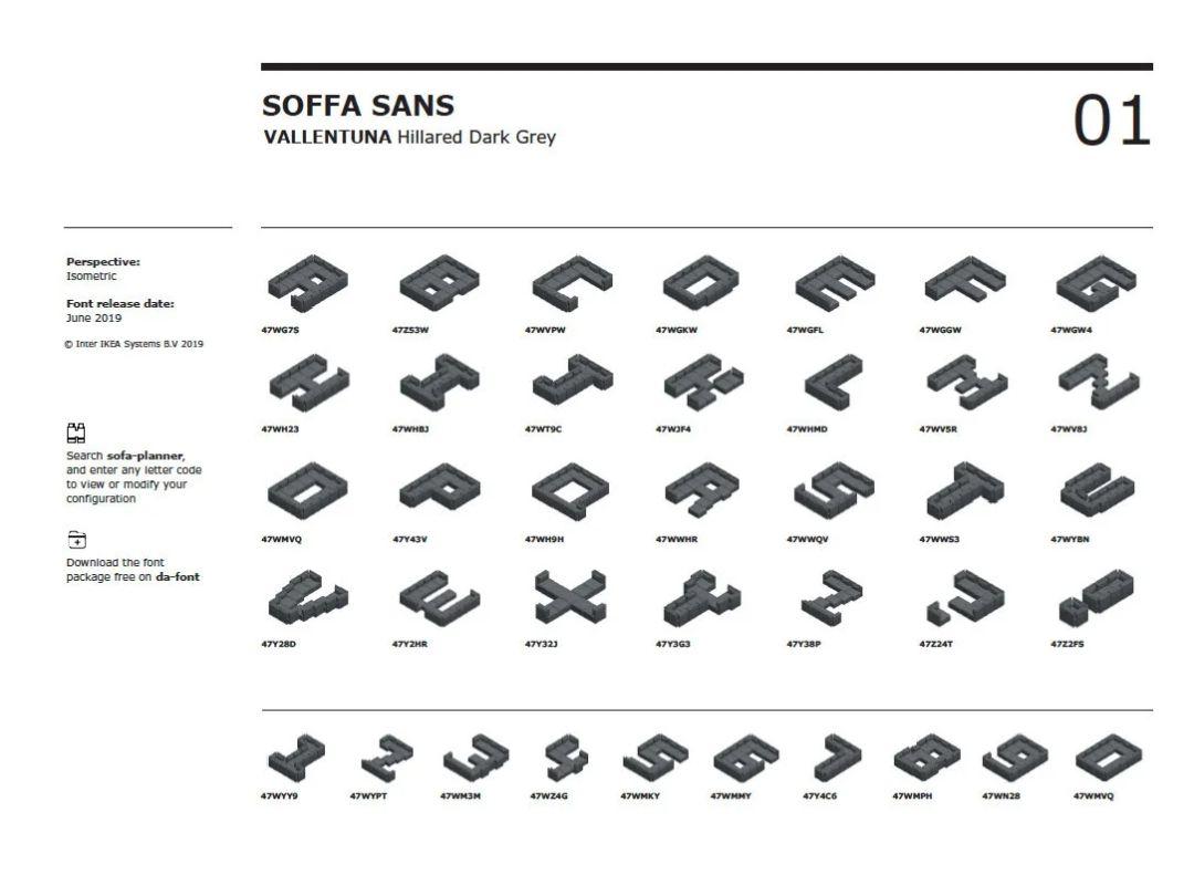 Darmowa czcionka Soffa Sans Ikea