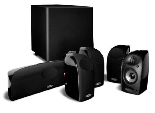 Polk Audio TL1600 5.1 system głośników z subwooferem, czarna