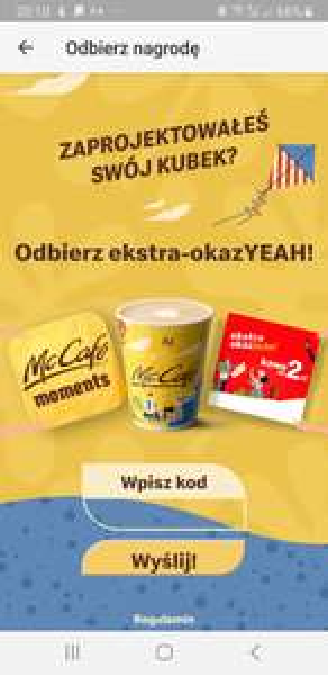 Dowolna kawa za 2 zł w McDonald's