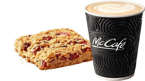 Dowolna kawa po zaprojektowaniu kubka McCafe