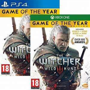 Wiedźmin 3: Dziki Gon - Game of the Year Edition na PS4 / Xbox One @thegamecollection