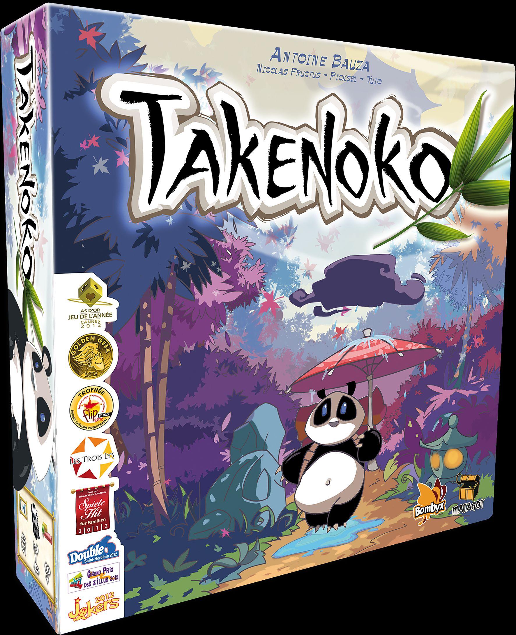 Gra planszowa Takenoko | Auchan Piotrków
