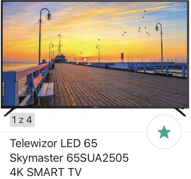 Telewizor 65 cali - Skymaster 65SUA2505