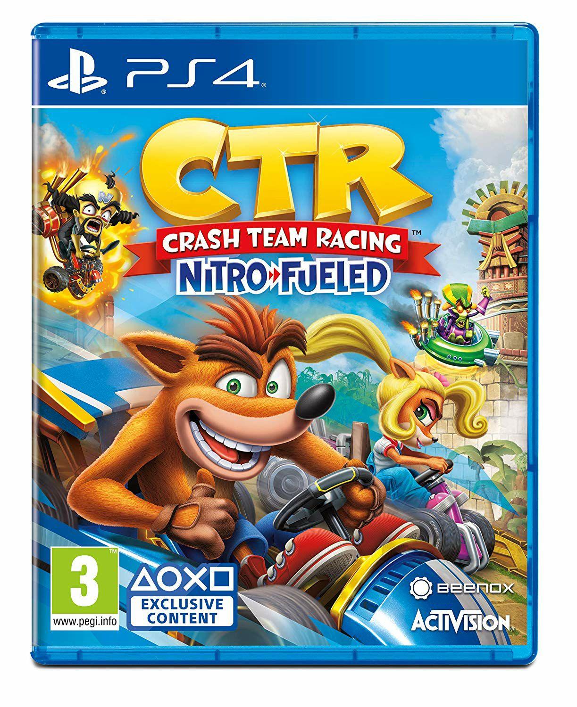 Crash Team Racing [PS4] za 400 punktów pyszne.pl