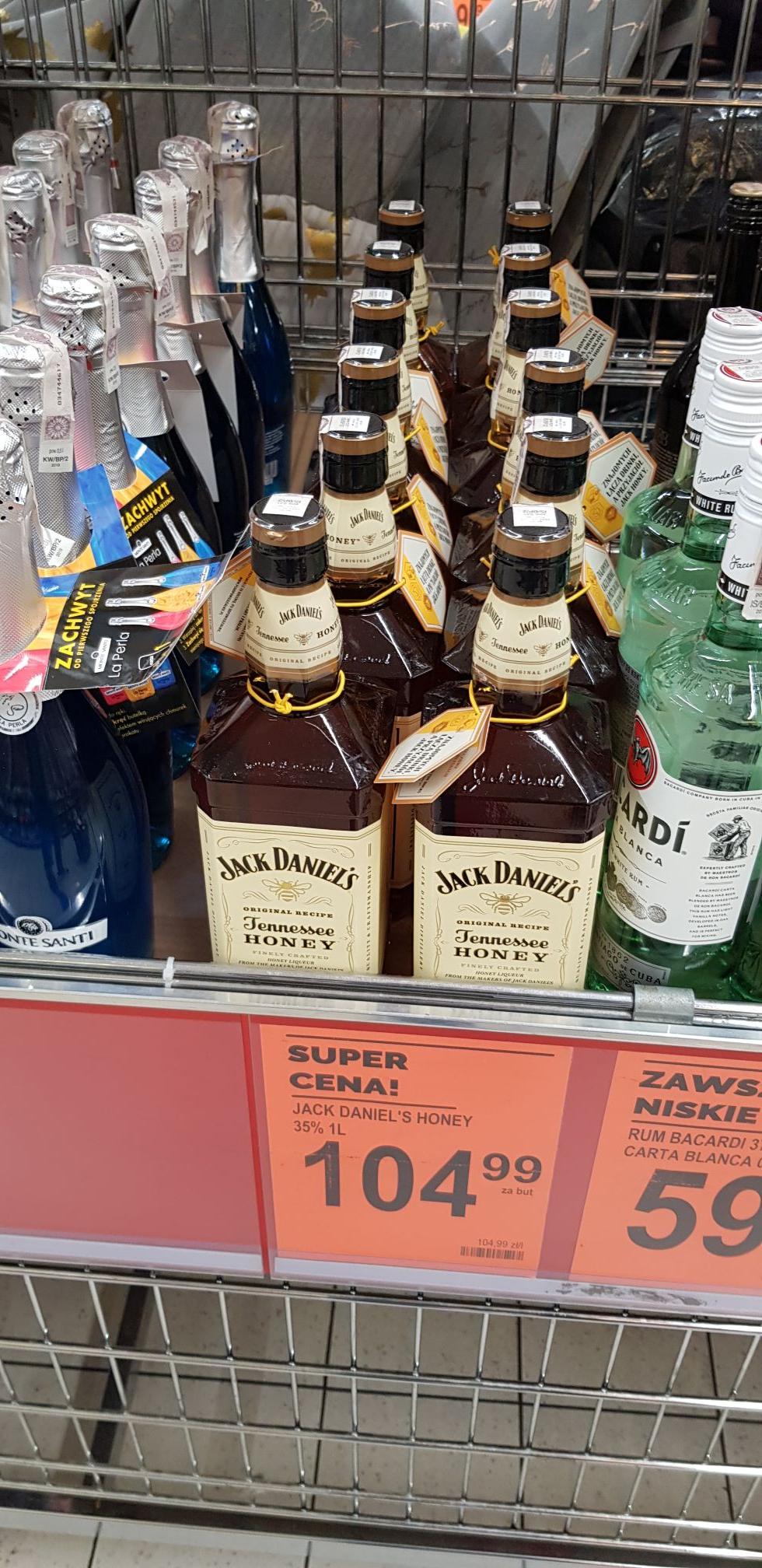 Jack Daniel's Tennessee Honey 1L Biedronka