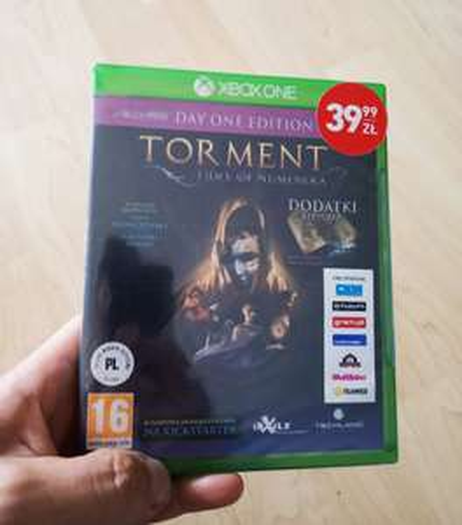 Torment: Tides of Numenera Biedronka Xbox One