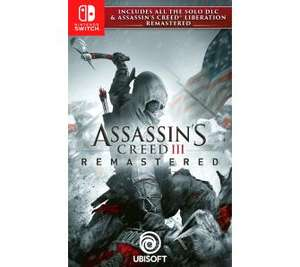 Assassin's Creed 3 + Liberation Remaster Nintendo Switch