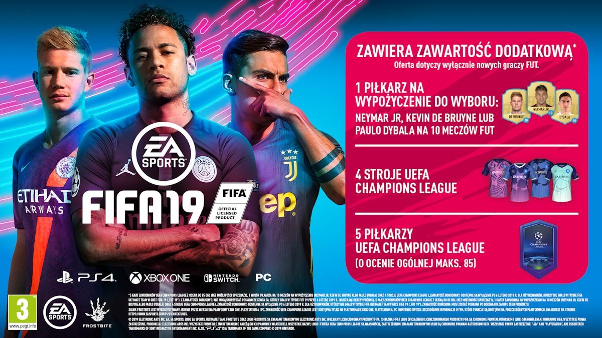 Gry FIFA19 i Spiderman za 199 PLN w komplecie