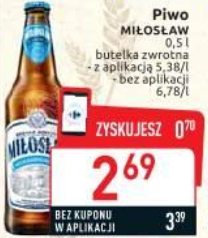 Piwo Miłosław Bezalkoholowe IPA z kuponem w aplikacji @ Carrefour