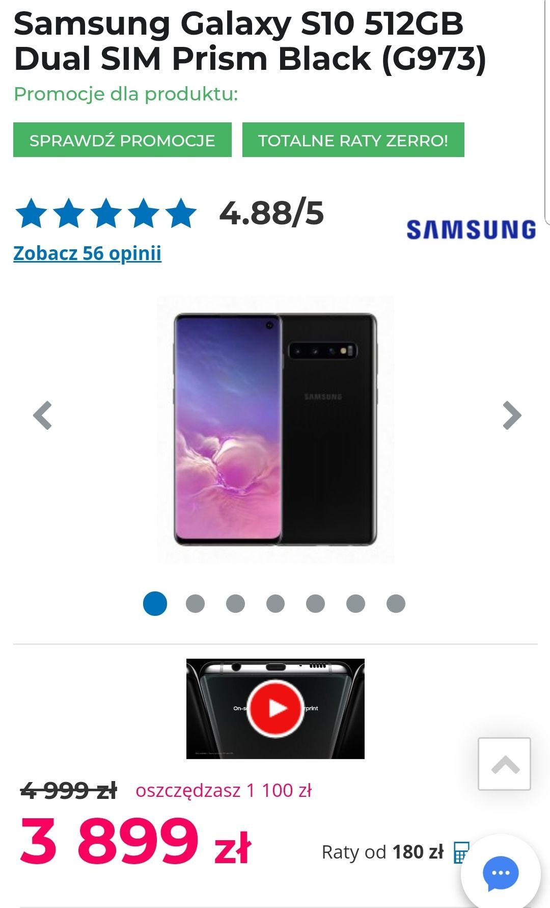 Samsung Galaxy s10 różne warianty taniej + odkup