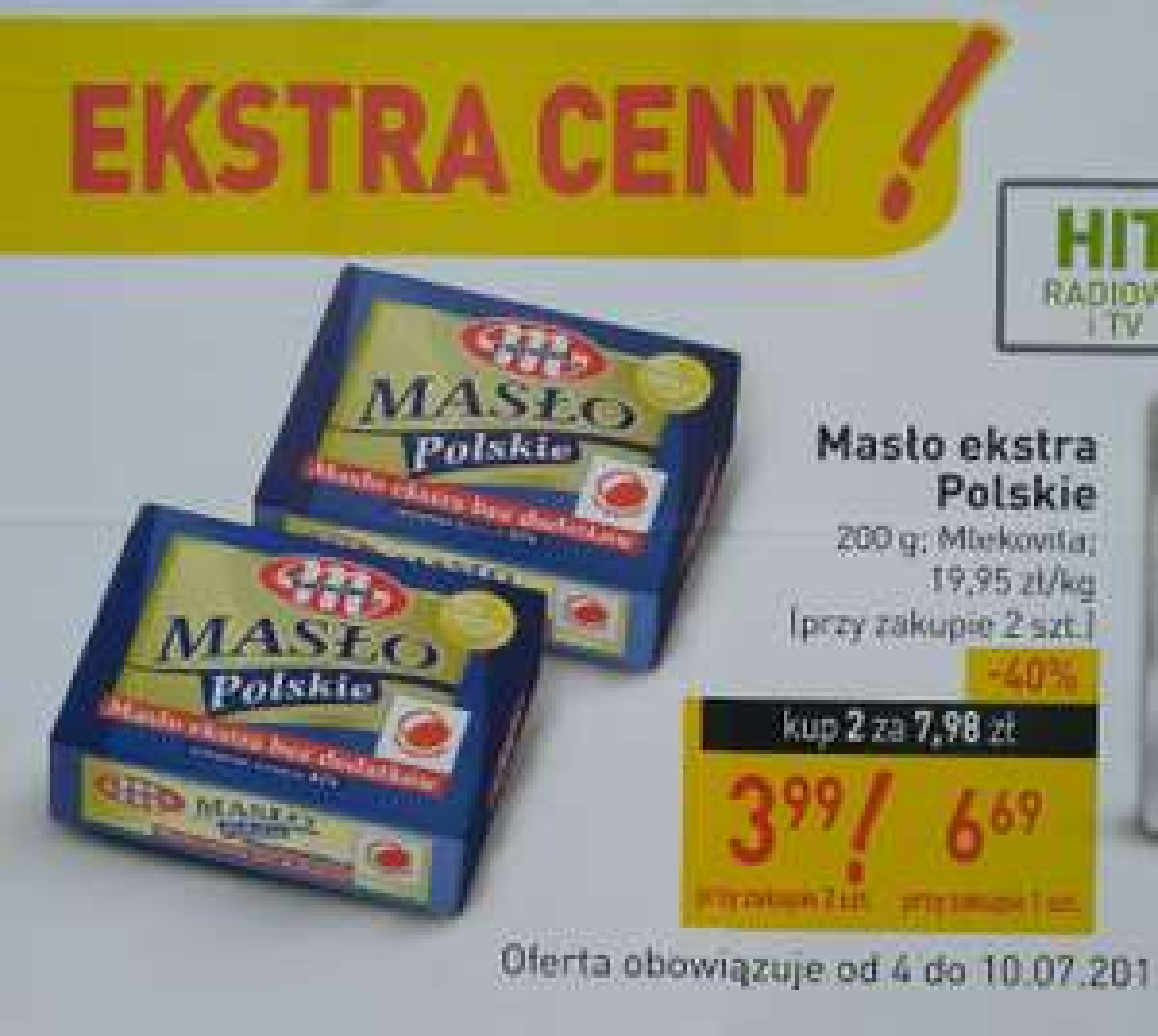 Masło polskie Mlekowita stokrotka