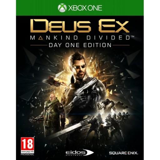 DEUS EX MANKIND DIVIDED Xbox One/PS4