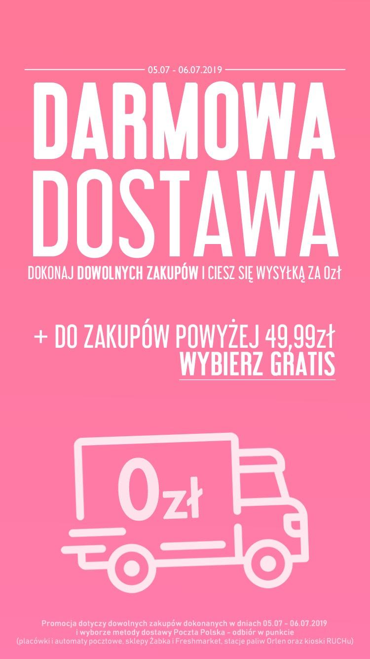 Kosmetyki, perfumy darmowa wysyłka mwz 0zł w darmarsklep.pl