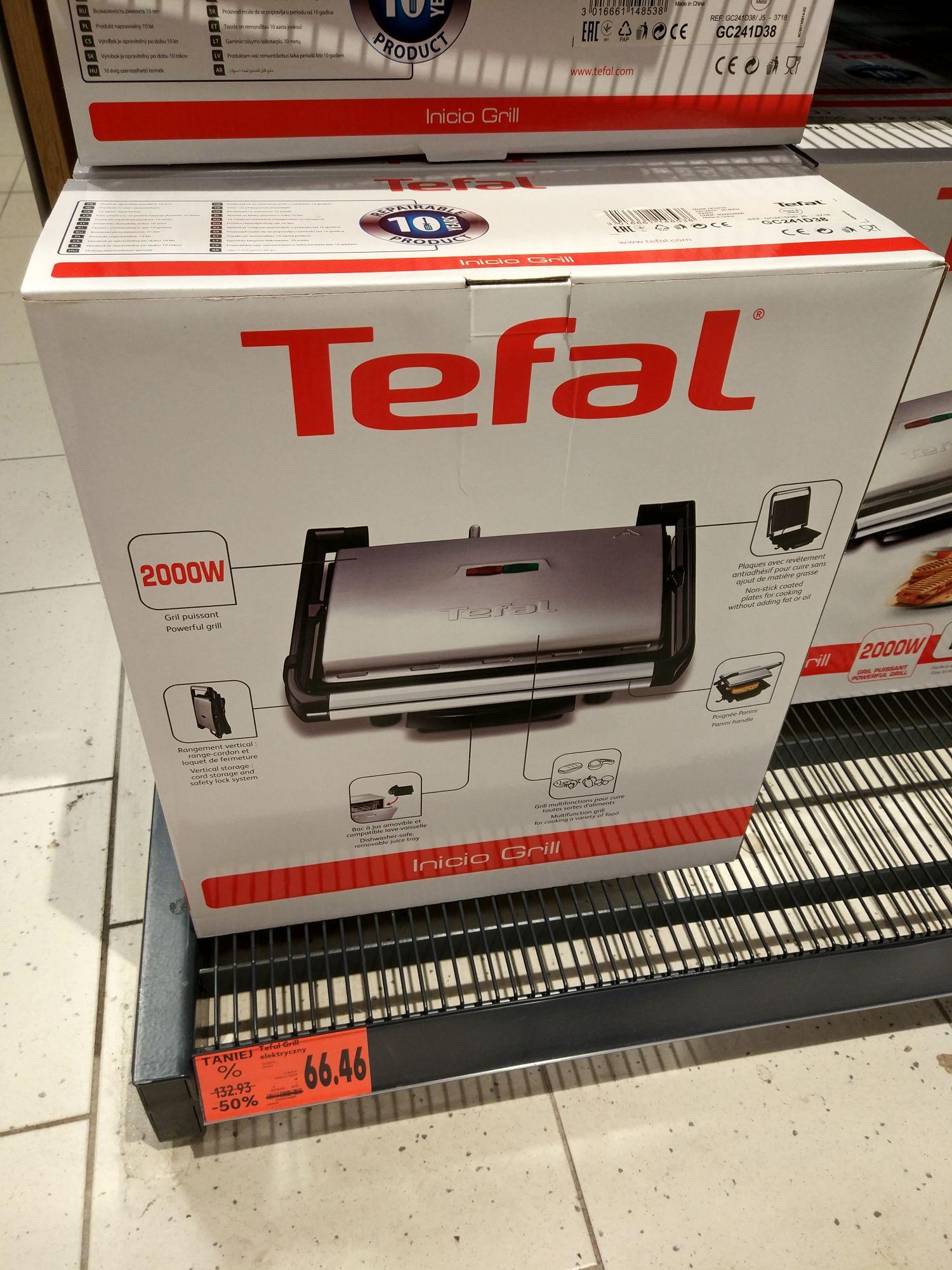 Grill elektryczny Tefal  GC241D38 @Kaufland