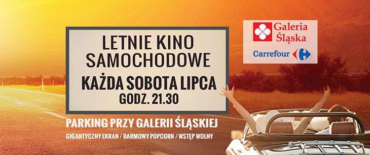 Letnie Kino Samochodowe Carrefour Rybnik, Grudziądz, Zamość, Olsztyn, Szczecin.