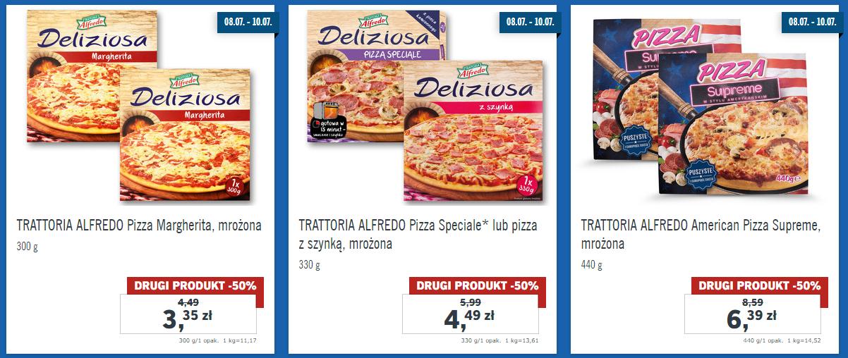 Druga Pizza - 50% Lidl