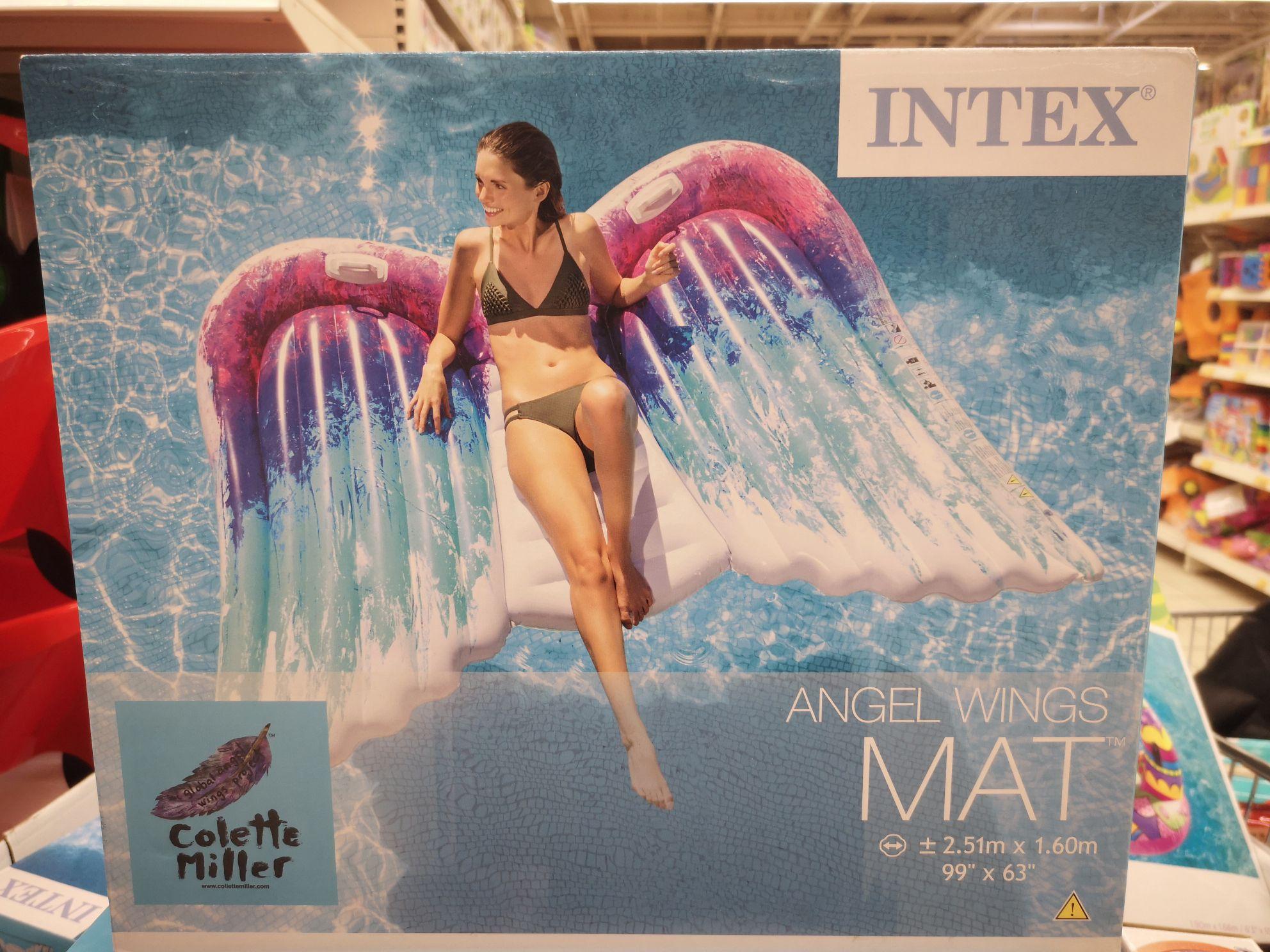Materac Angel Wings INTEX Auchan Piaseczno