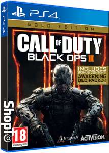 Call of Duty: Black Ops III Gold Edition PS4/Xbox one