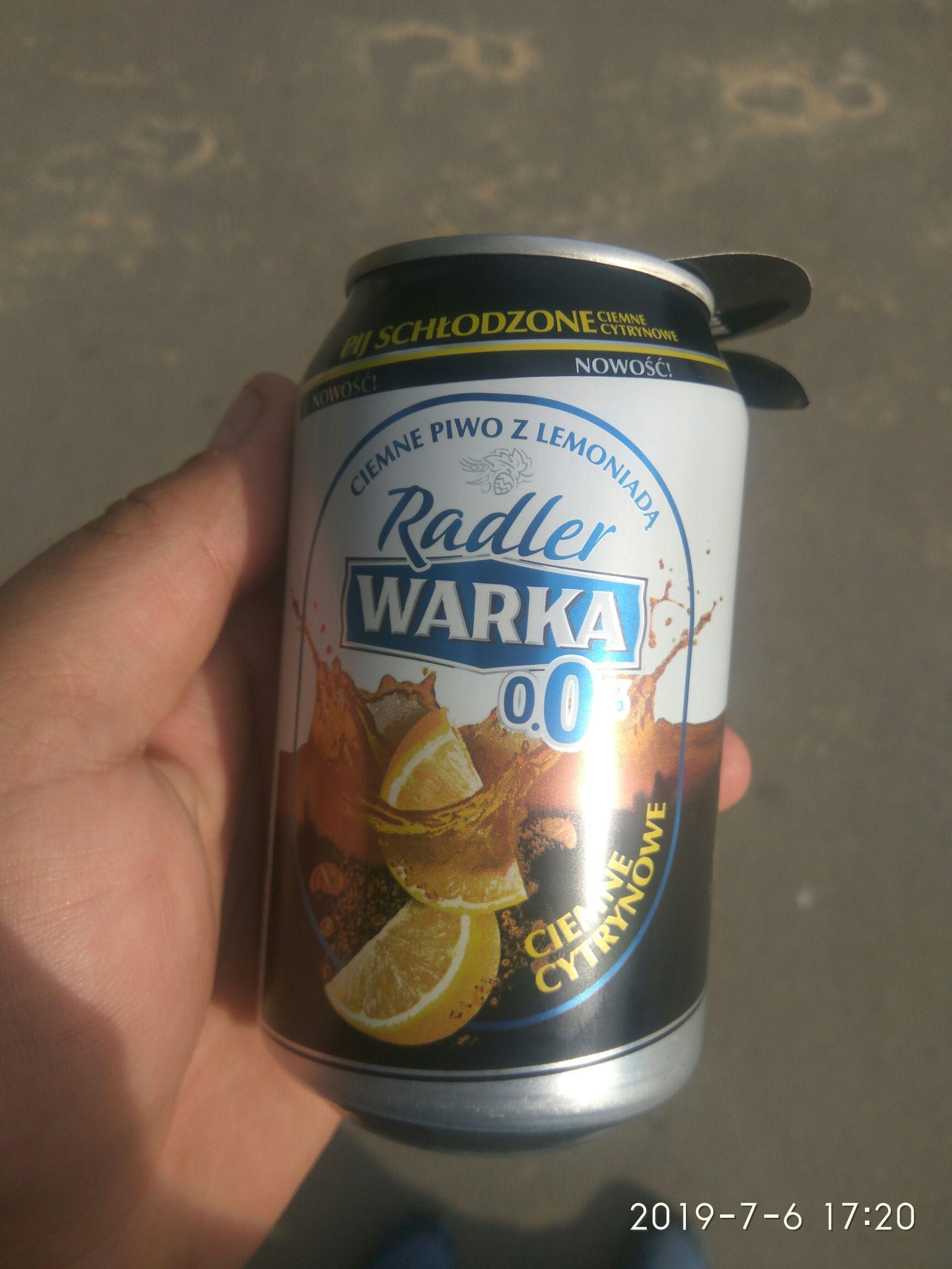 Warka Radler za free Sosnowiec Stawiki