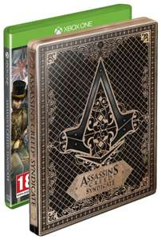 Assassin's Creed: Syndicate - STEELBOOK - XBOX ONE za 109zł @ Amazon