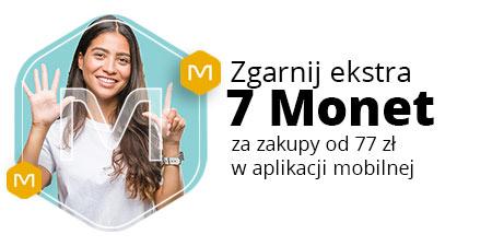 +7 Monet za zakup od 77 w aplikacji allegro