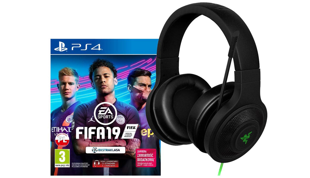 Razer Kraken Essential + FIFA 19 PS4
