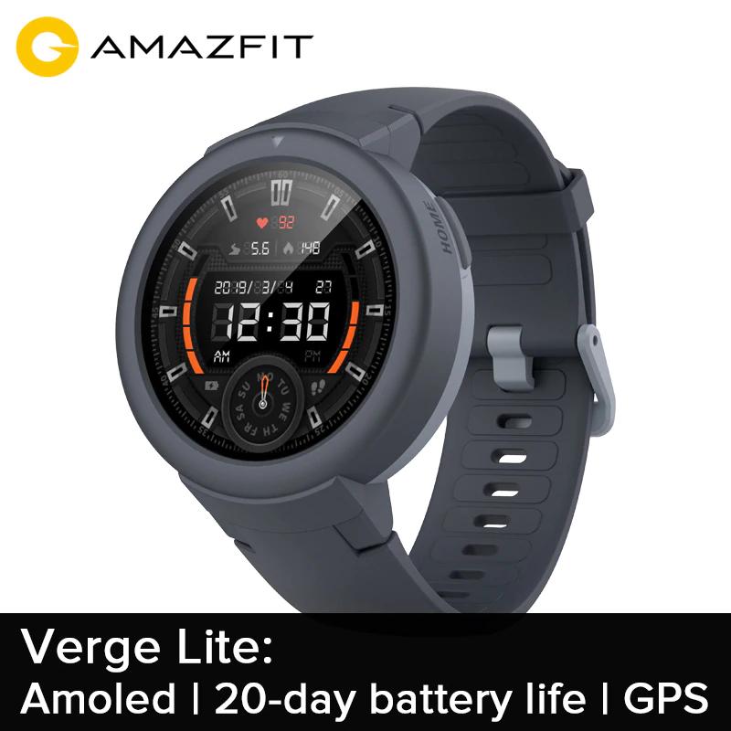 Amazfit Verge Lite za $79.99 (dostawa z Hiszpanii)