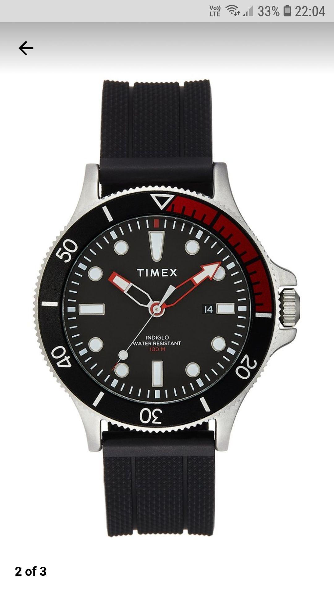 Timex 10Atm, INDIGLO znów dostępny