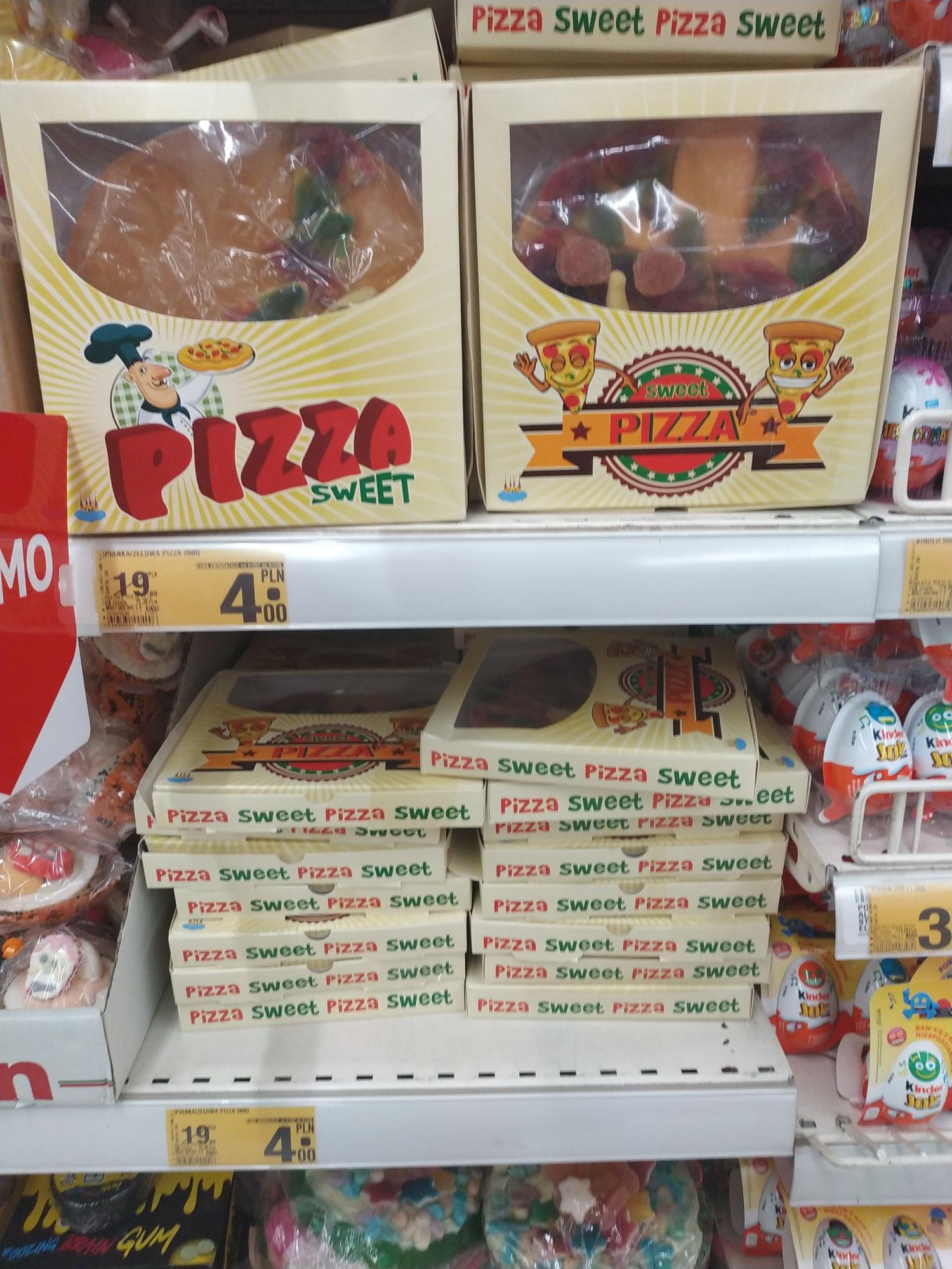 "Żelki owocowe ""Pizza"" - Auchan Wola Park"