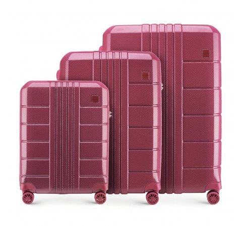 Wittchen Zestaw walizek z poliwęglanu (policarbonu)