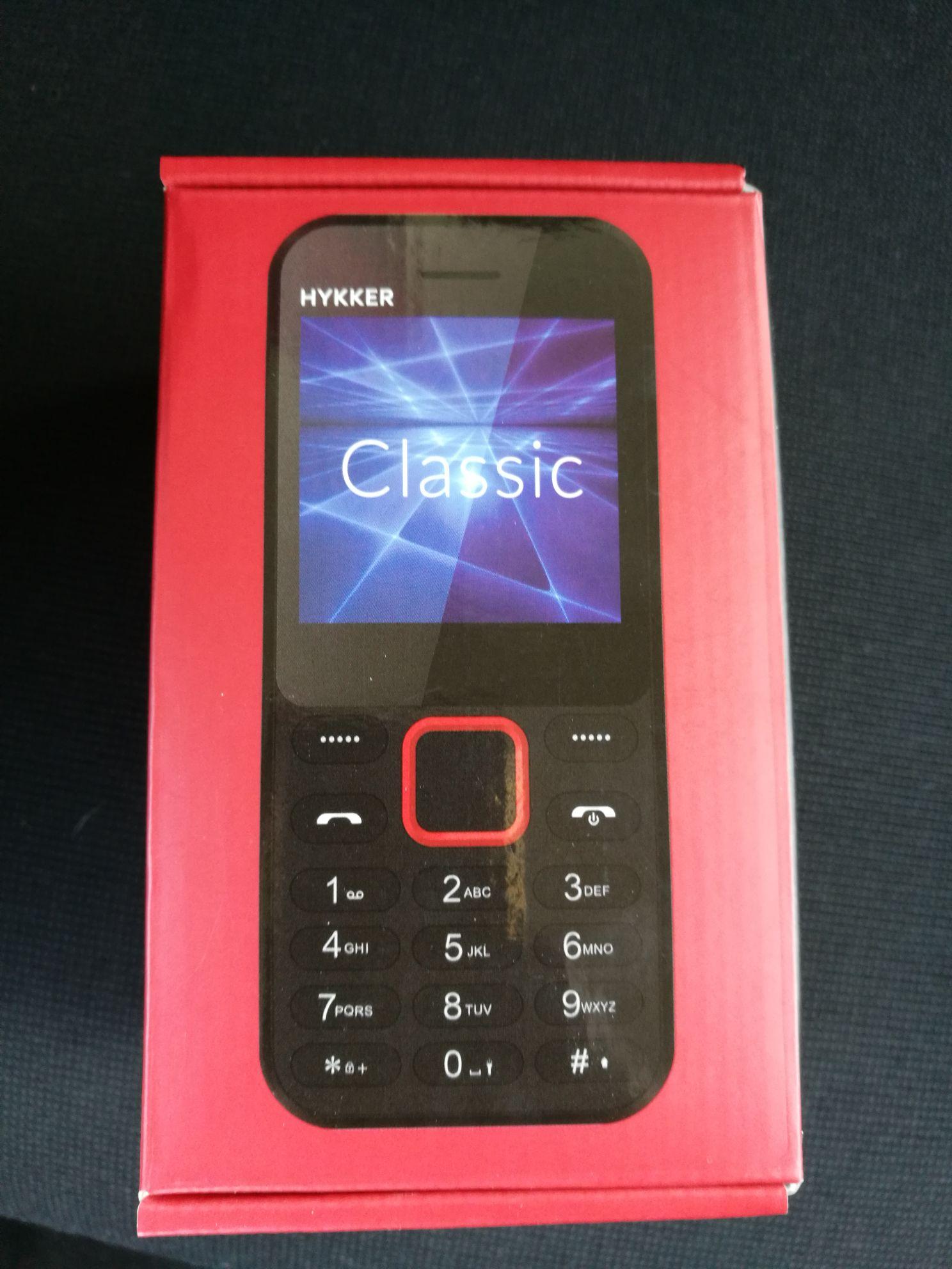 Telefon Hykker Classic Biedronka