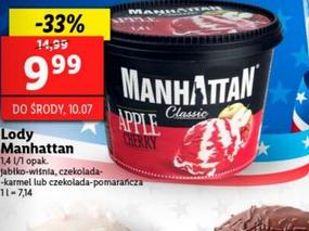 Lody Manhattan 1.4 L @Lidl