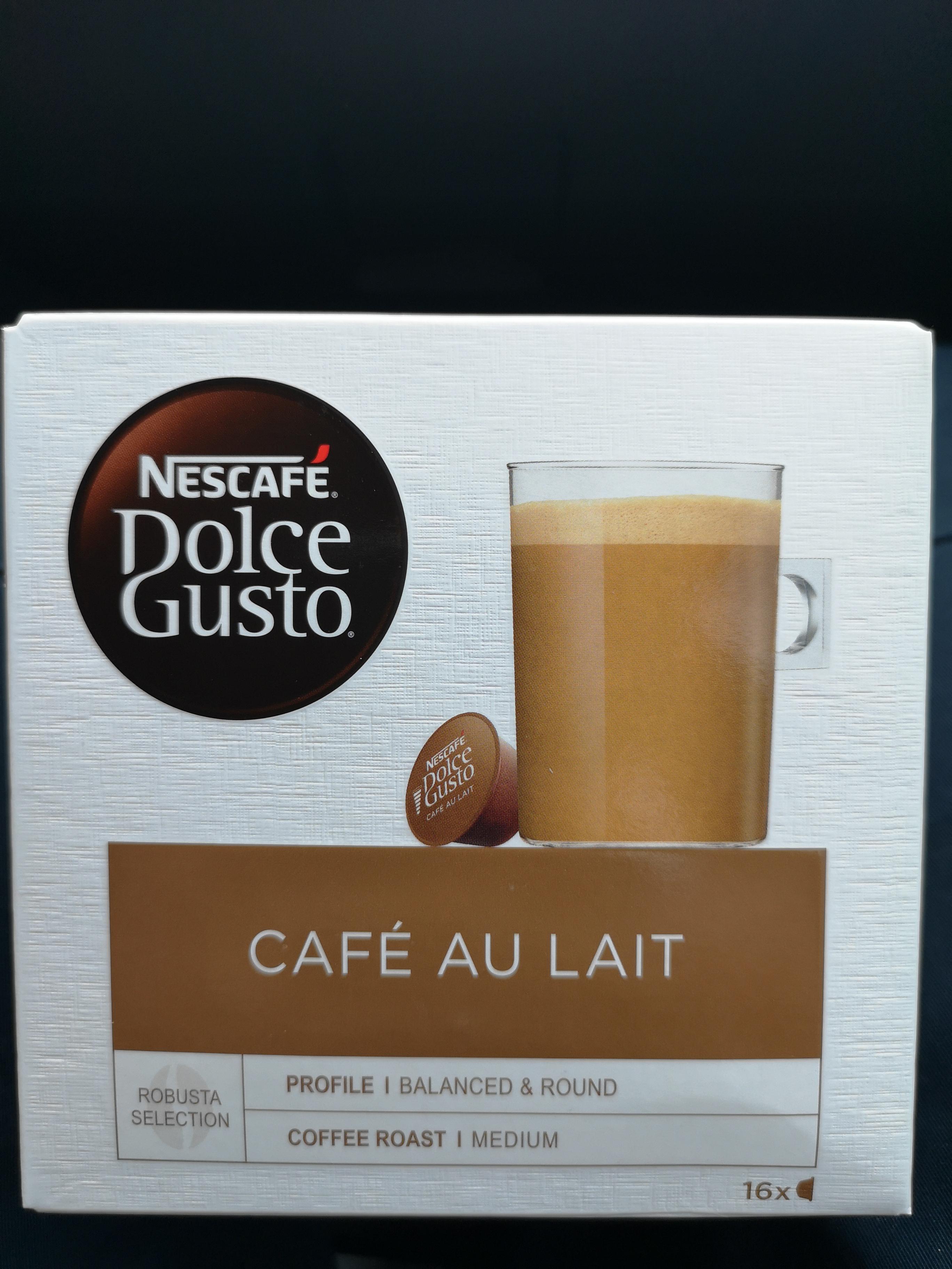 Kapsułki Dolce Gusto - Cafe au Lait