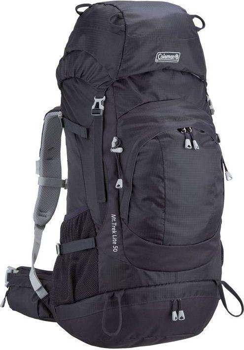 Plecak turystyczny COLEMAN MT Trek 50L czarny i inne w super cenie i pokrowiec Deuter