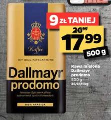 Kawa mielona Dallmayr Prodomo 500g @Netto