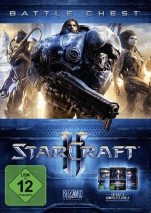 Starcraft 2 Battle Chest 2.0 PC @cdkeys