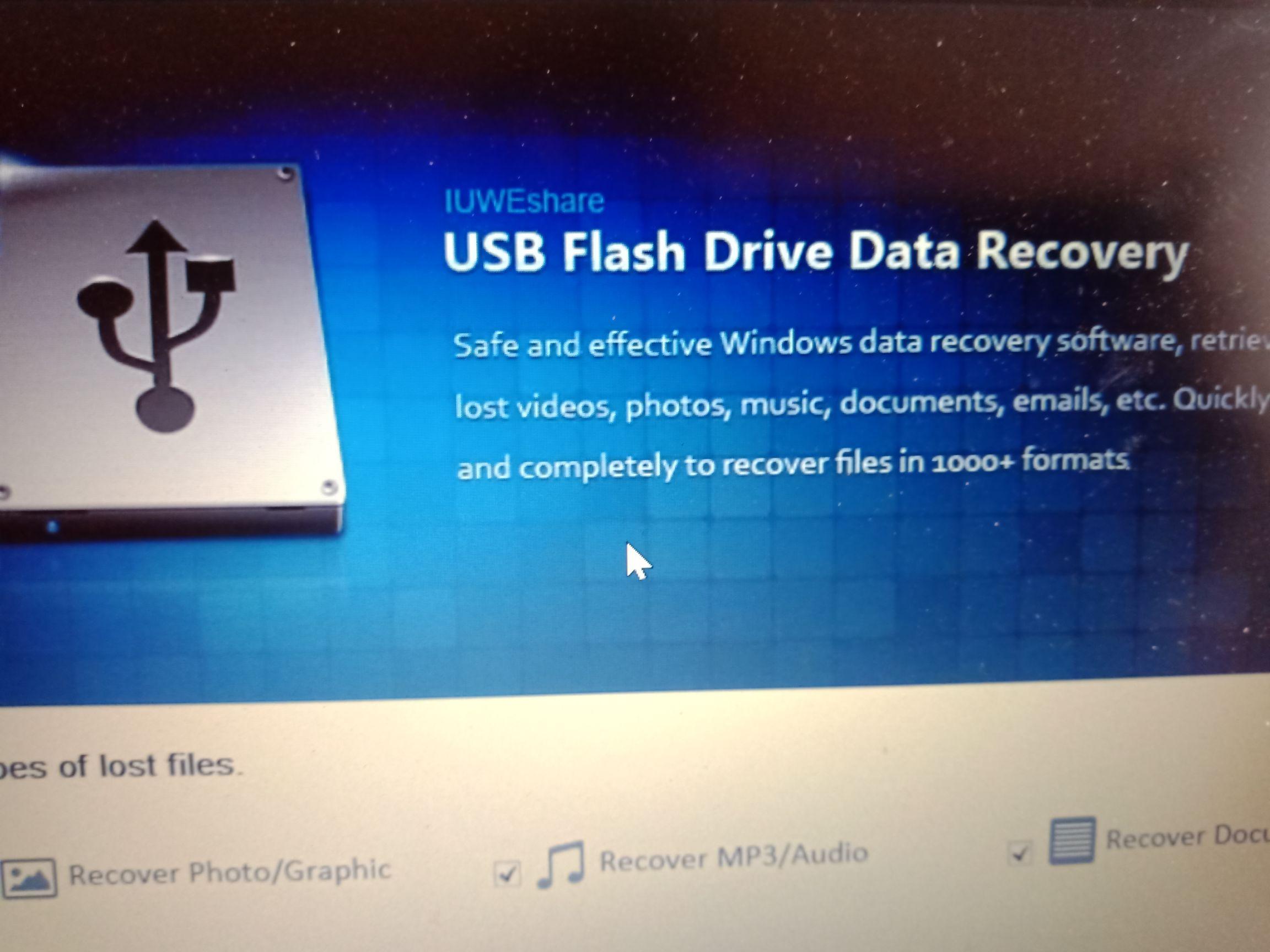 Program do odzyskiwania danych z pamięci masowych USB - tylko dziś za darmo!