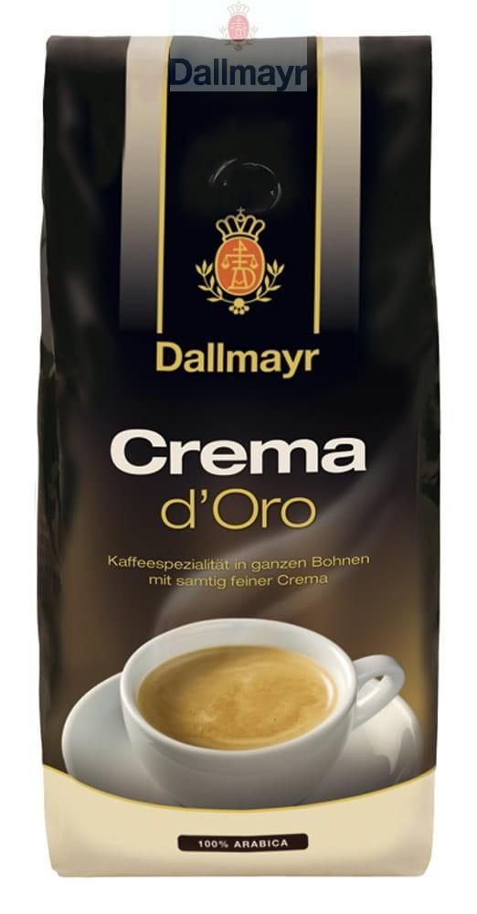 Kawa ziarnista Dallmayr Crema d`Oro, 1kg, hipermarket bi1 od 10lipca