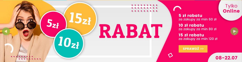 5/10/15zł rabatu przy zakupach online @ Natura