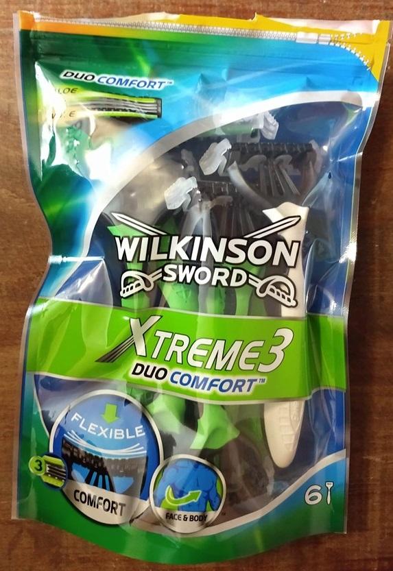 WILKINSON SWORD Xtreme 3 jednorazowe maszynki do golenia 8 szt.