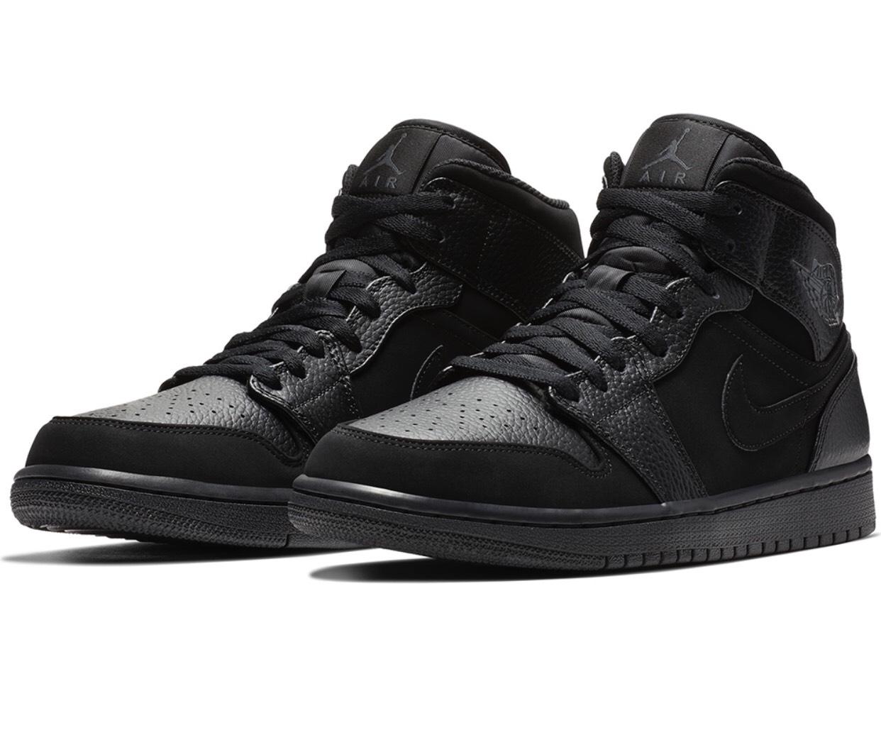 Nike Air Jordan 1 MID czarne 554724-064 rozmiary 44; 44,5; 47; 47,5