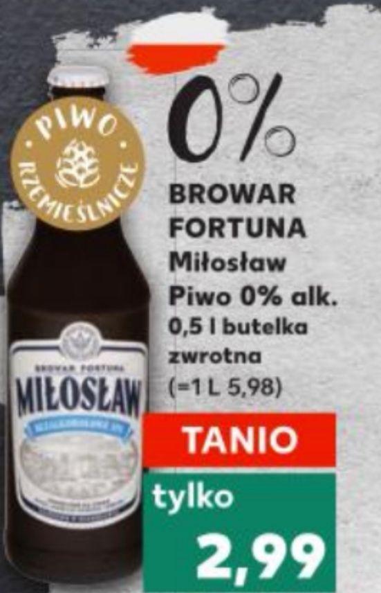 Piwo Miłosław bezalkoholowe IPA Kaufland