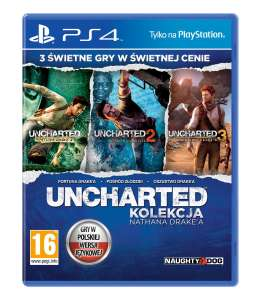 Uncharted - Kolekcja Nathana Drake'a - PS4