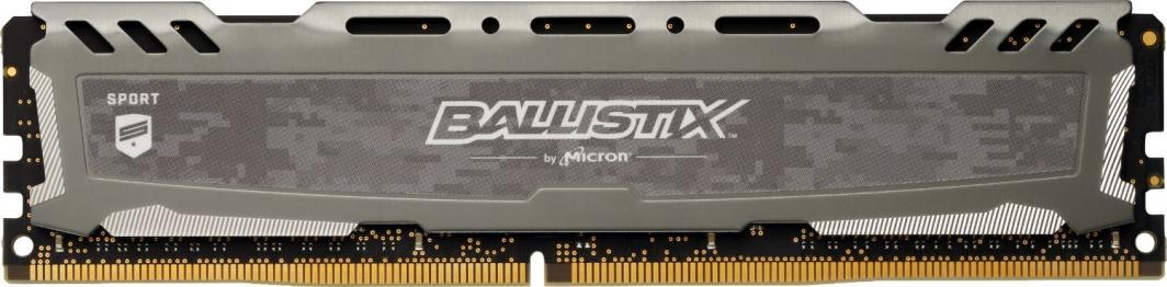 Pamięć Ballistix Ballistix Sport LT, DDR4, 8 GB,3200MHz, CL16 (BLS8G4D32AESBK)