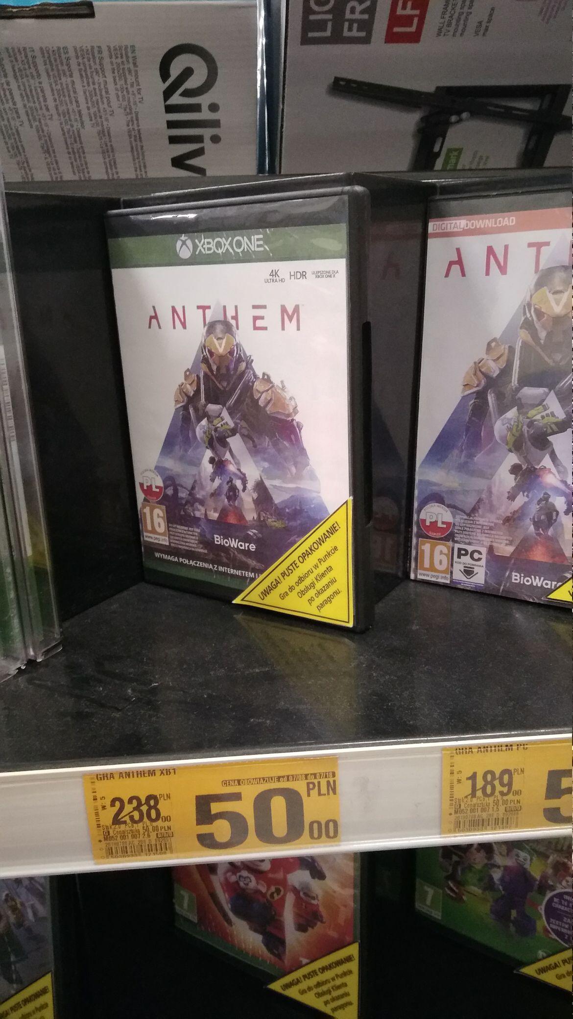 Anthem, Auchan Kielce, XONE